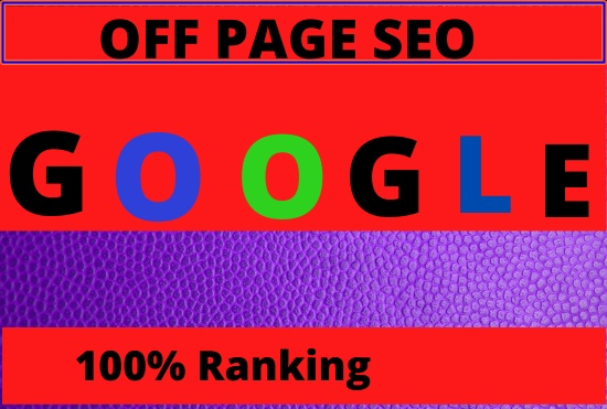 I will do white hat monthly off page SEO service for google top rank
