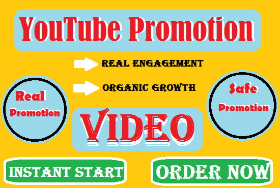 YouTube video promotion with instant results