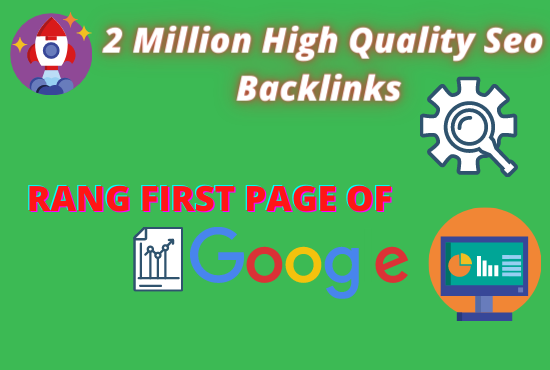 I will do website SEO by making 2 million backlinks