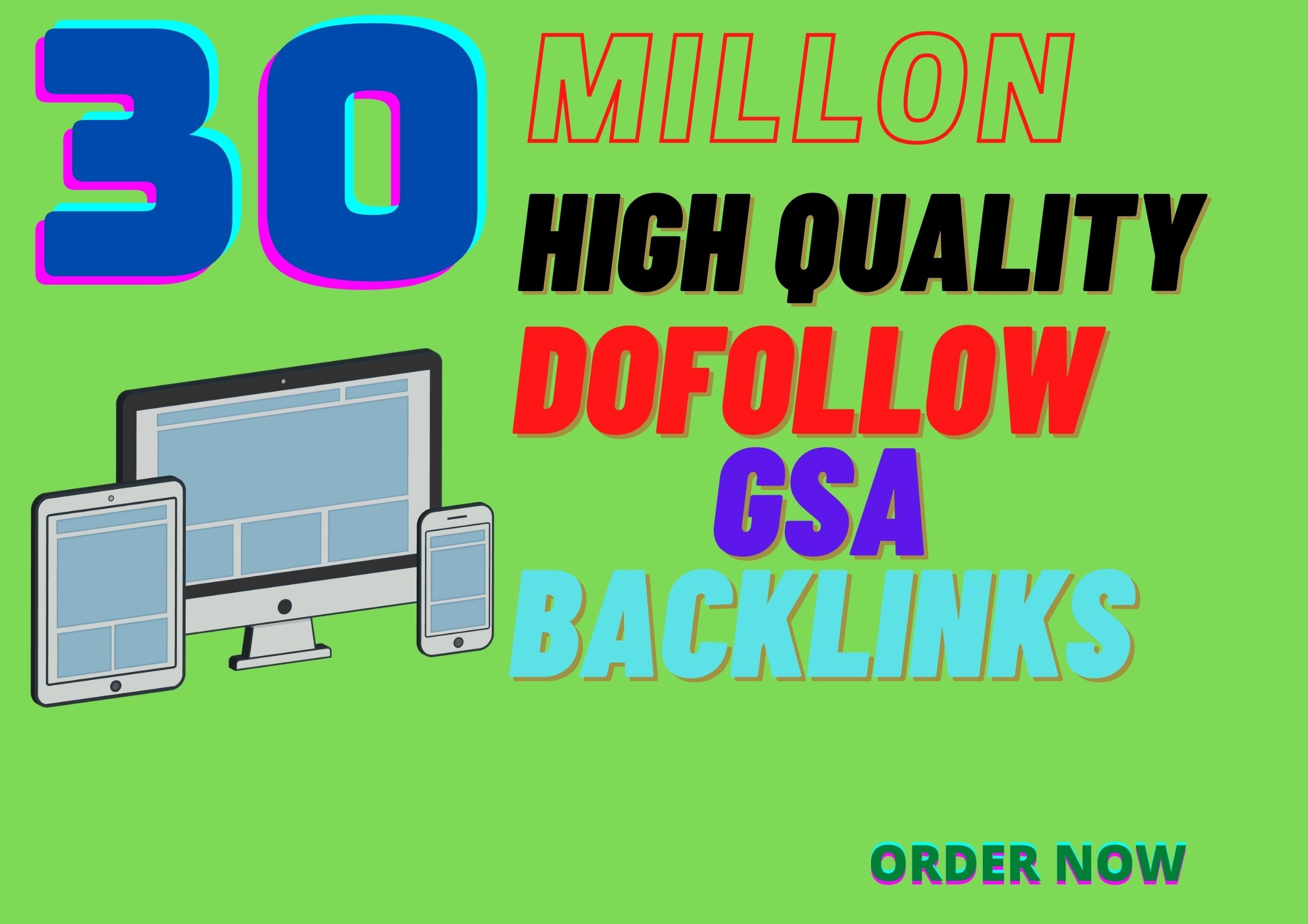 I will create high quality backlinks SEO service for google ranking
