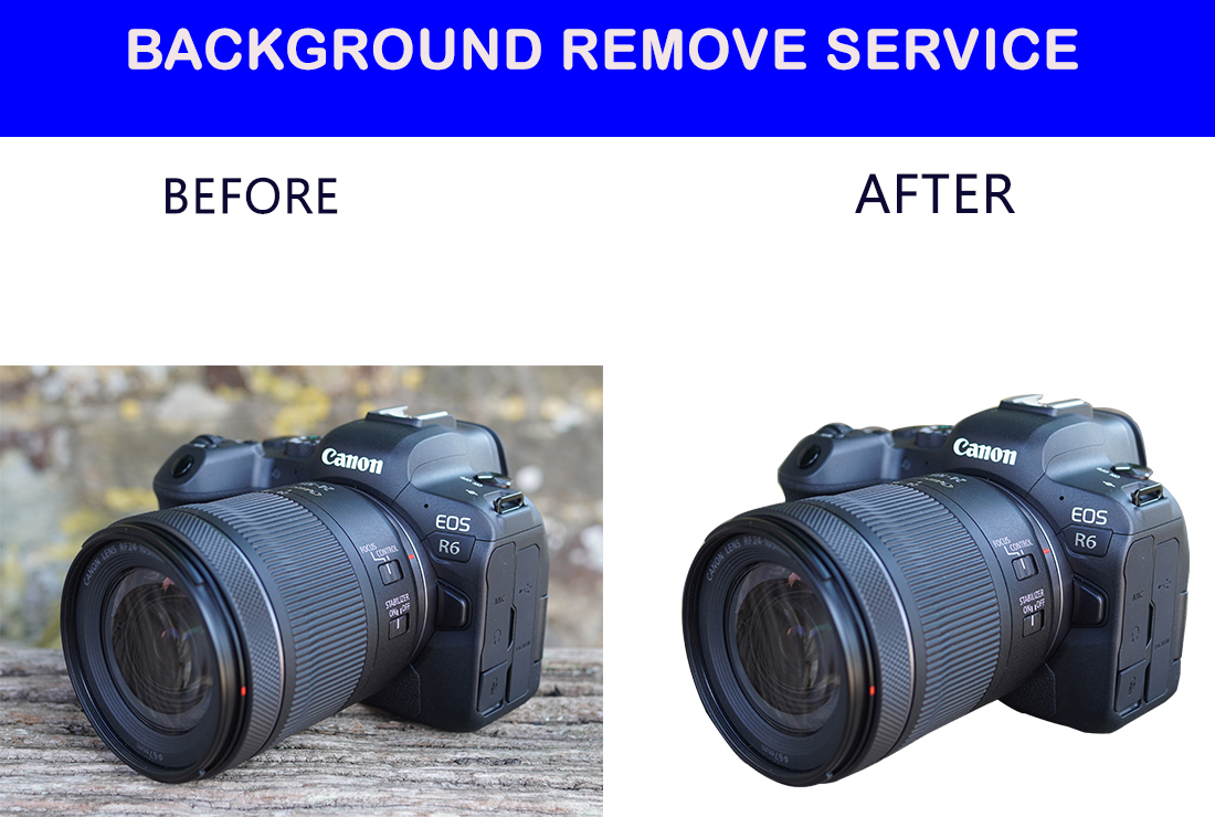 I will do amazon product photo background removal 2 images in 4 hours