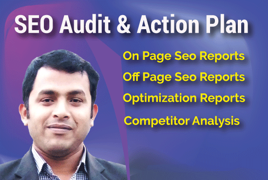 I will make an excellent SEO audit report and competitor analysis for your site