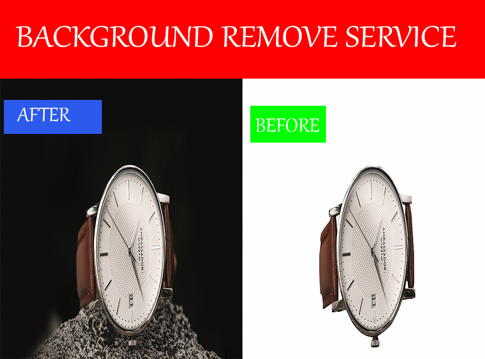 I Will do photo background removal service