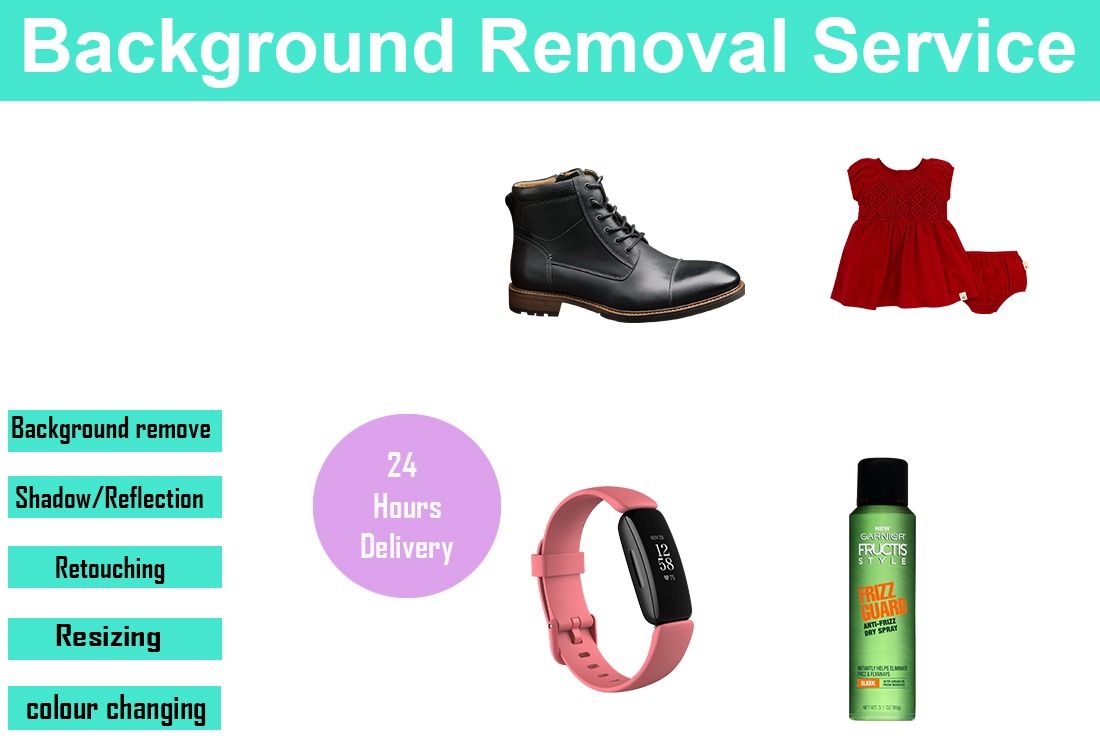 I will do any product background remove,  retouch,  photo editing 2 image