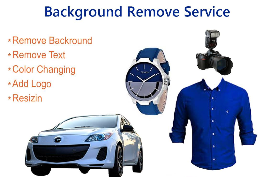 I will do product background removal