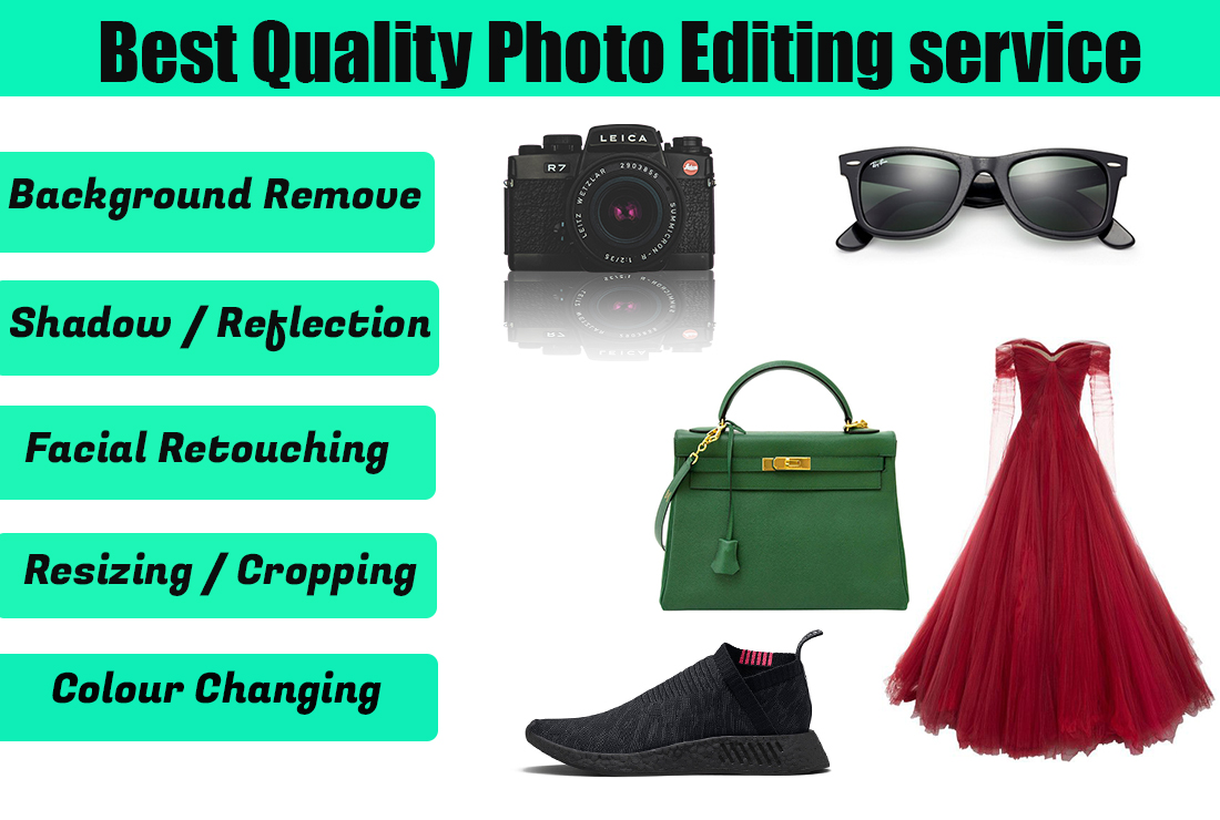 I will give you best quality photo editing service
