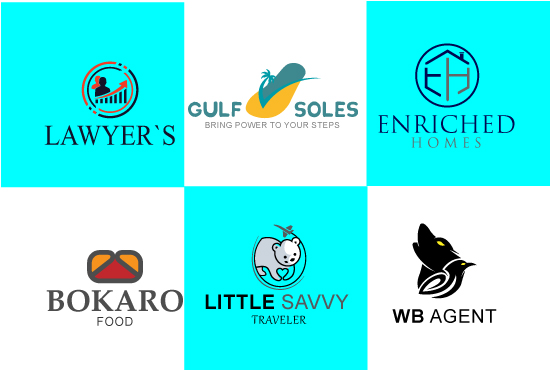 I will design the best logo for your website,  business,  for anything