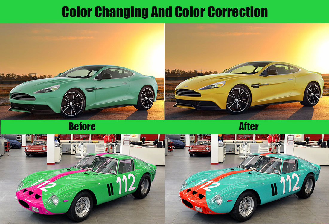 I will remove background, color changing and retouching of photos professionally