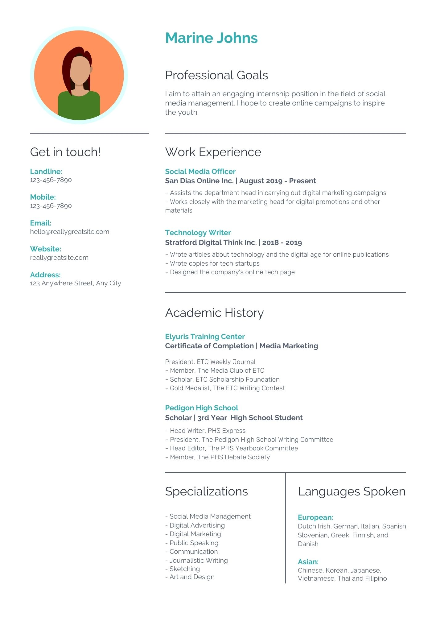 I will do professional resume writing service for you