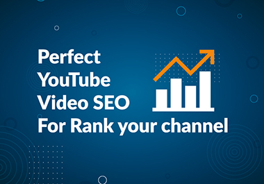 I will do SEO of your youtube videos to improve ranking organically