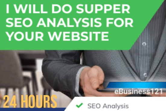 Super SEO Report for your website