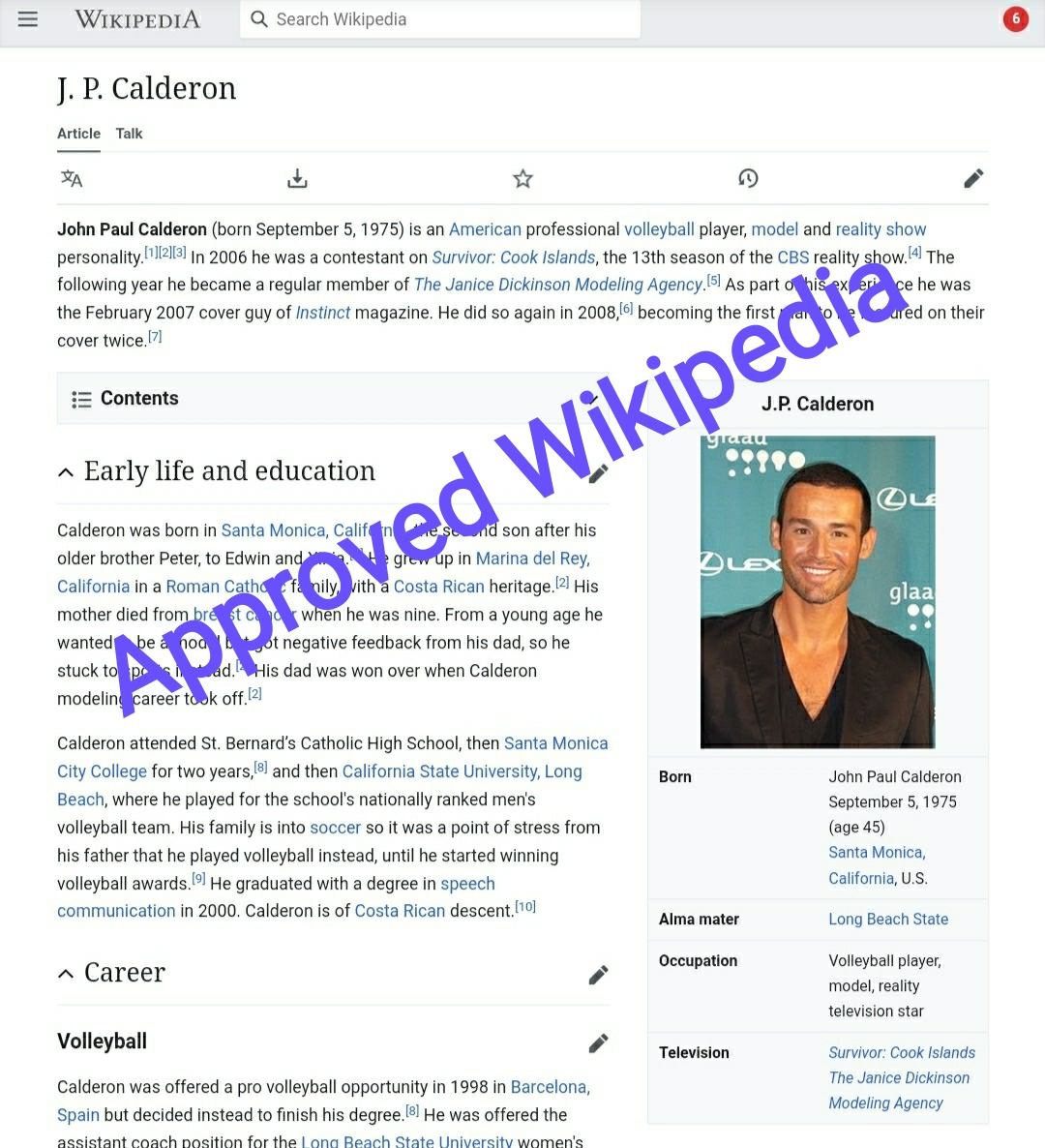 Wikipedia page for all languages + Backlinks