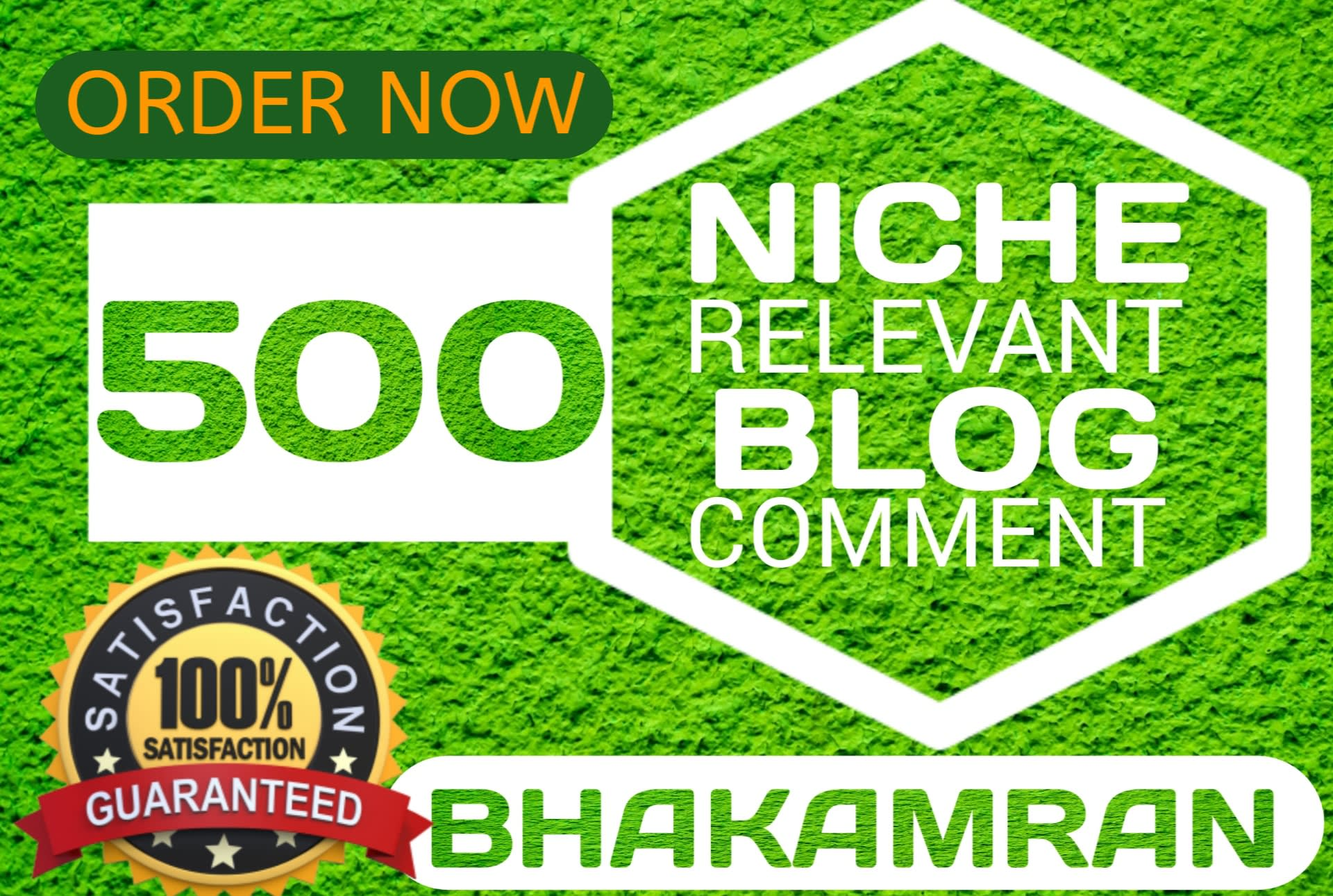 I will create 500 niche relevant blog comments seo backlinks