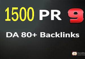 I will boost web ranking 1500 USA pr9 safe manually backlinks
