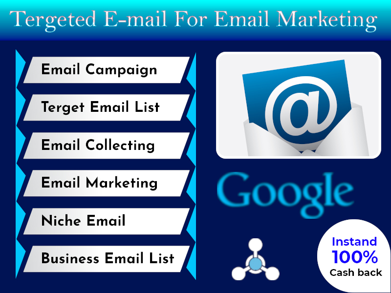 I will collect 2k bulk email for your email marketing
