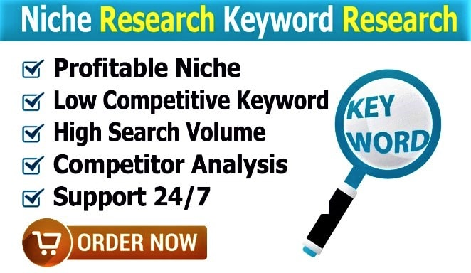 I will do niche and keyword research for affiliate marketing