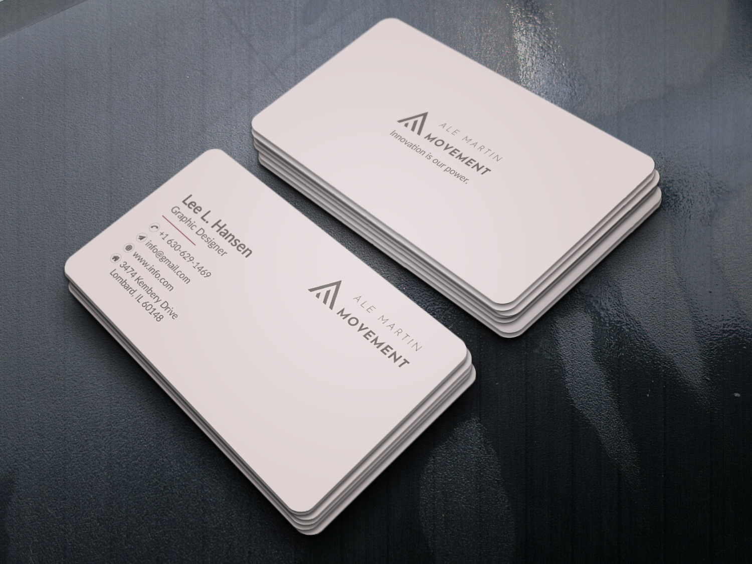 I will design Luxury Business Card for you (any Style, any shape)
