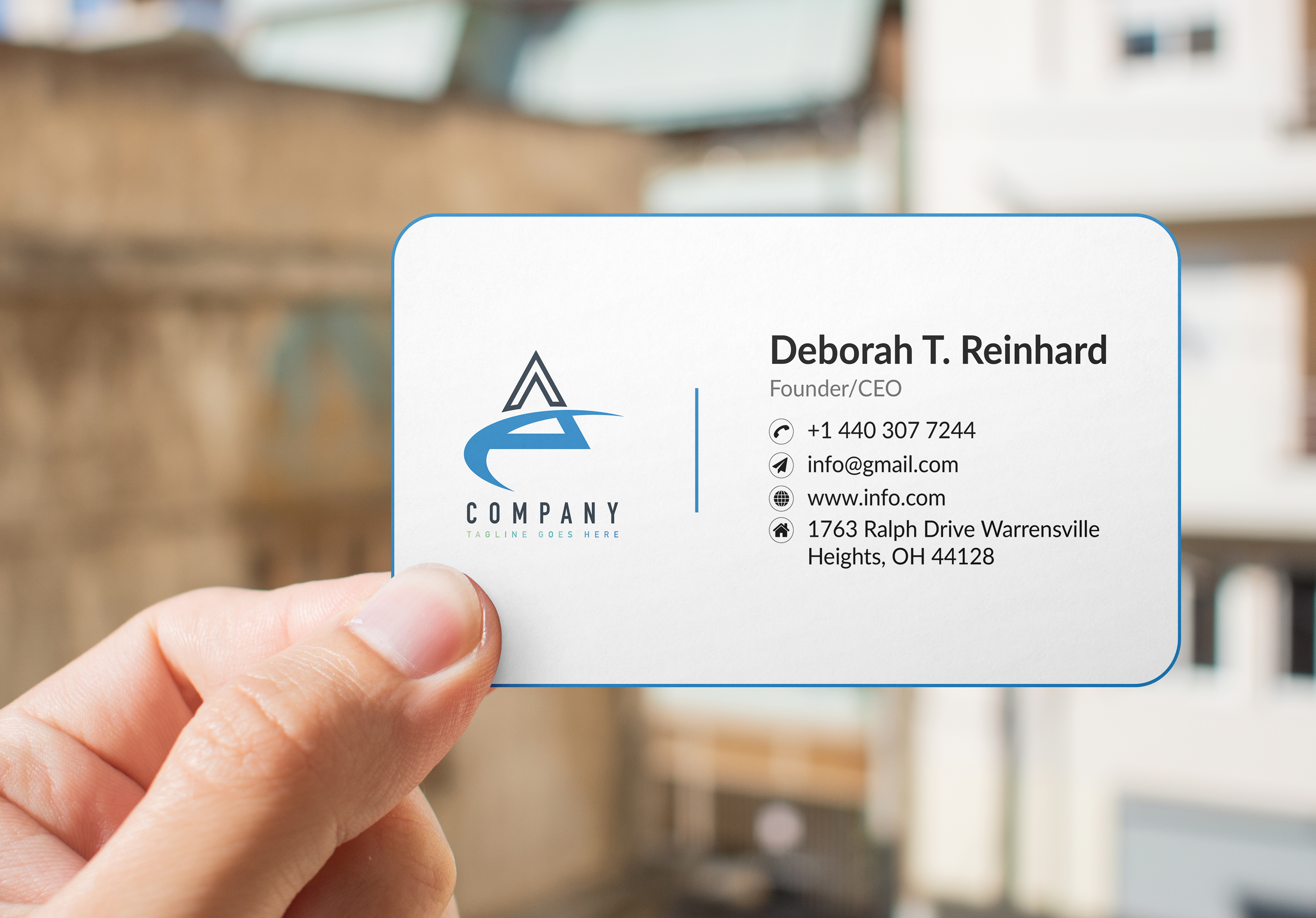 Luxury Business Card design for you any Style,  any shape