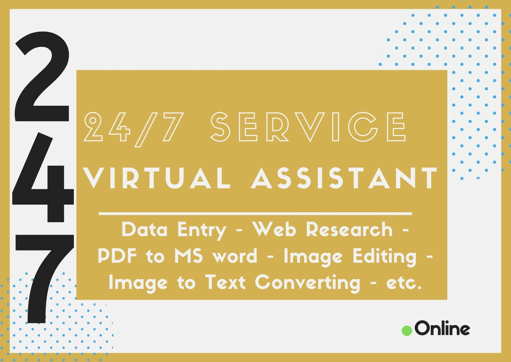 I will be your business or personal virtual assistant for 1 hour