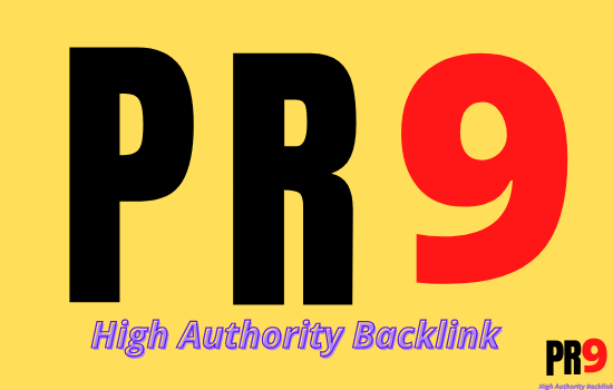 I will 100 PR9 SEO Links for Top rankings on Google 2020