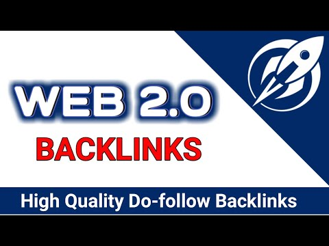 High Quality 30 Web 2.0 SEO Backlinks are the most effective Backlinks Strategy to rank