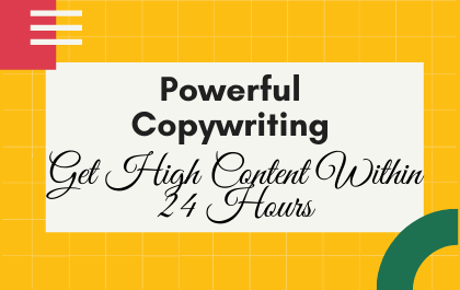 250 Words Powerful Copywriting for your website