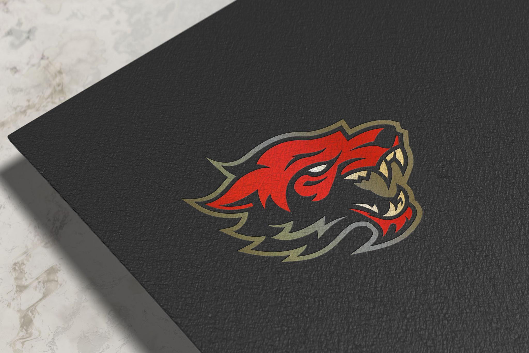 I will do realistic mockup for you design or logo 5 image