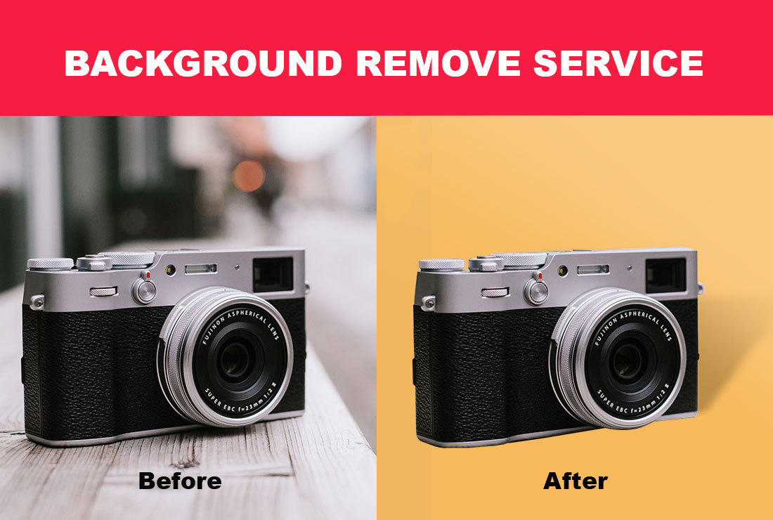 I will do amazon product photo background removal 2 image in 4 hours