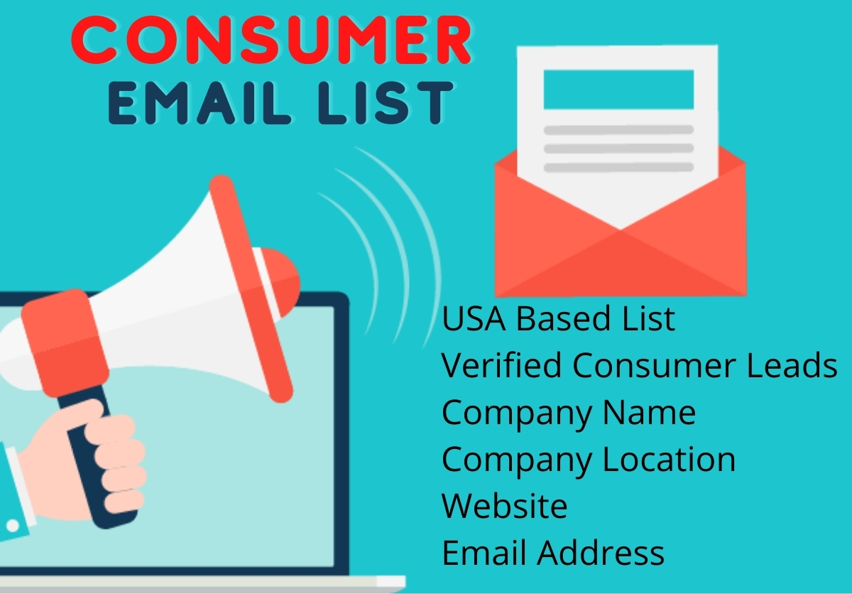 I will provide you 5K USA based consumer email list