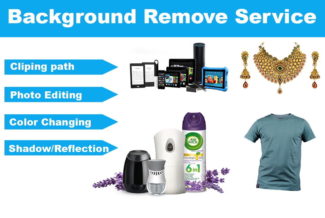 Product Background Remove And Photo Editing