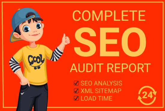 I will provide expert SEO audit report