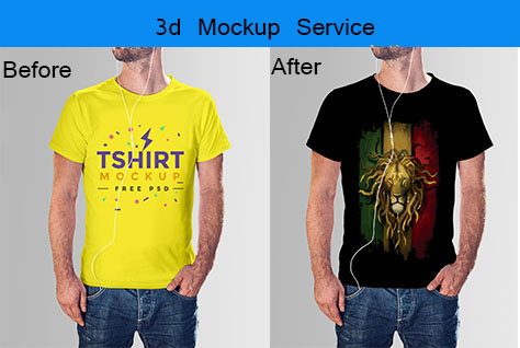 I will do 3d mockup for your logo and design