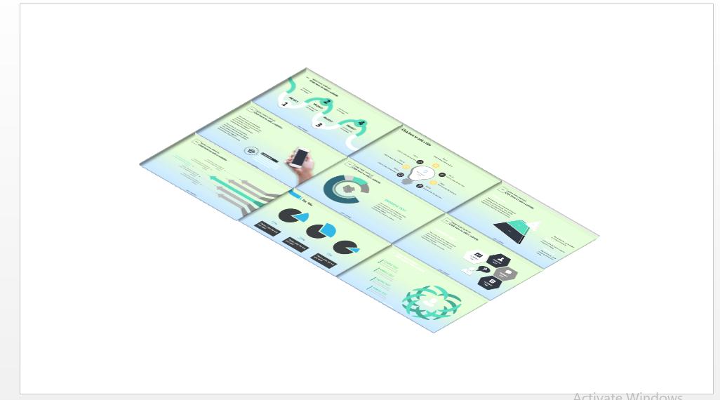 WOW PowerPoint Slide Design for Presentation