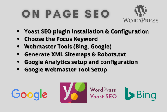 I will do wordpress on page SEO optimization