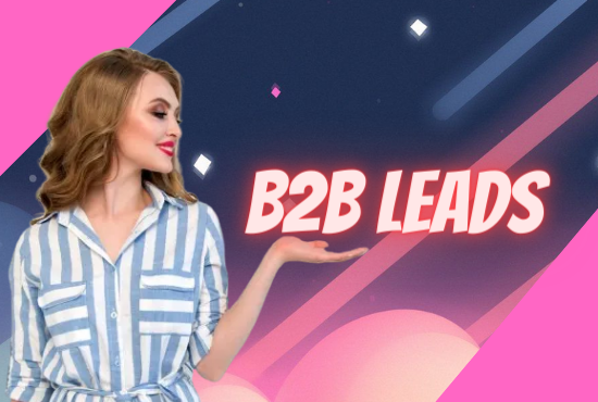 I will provide valid B2B target leads your Business