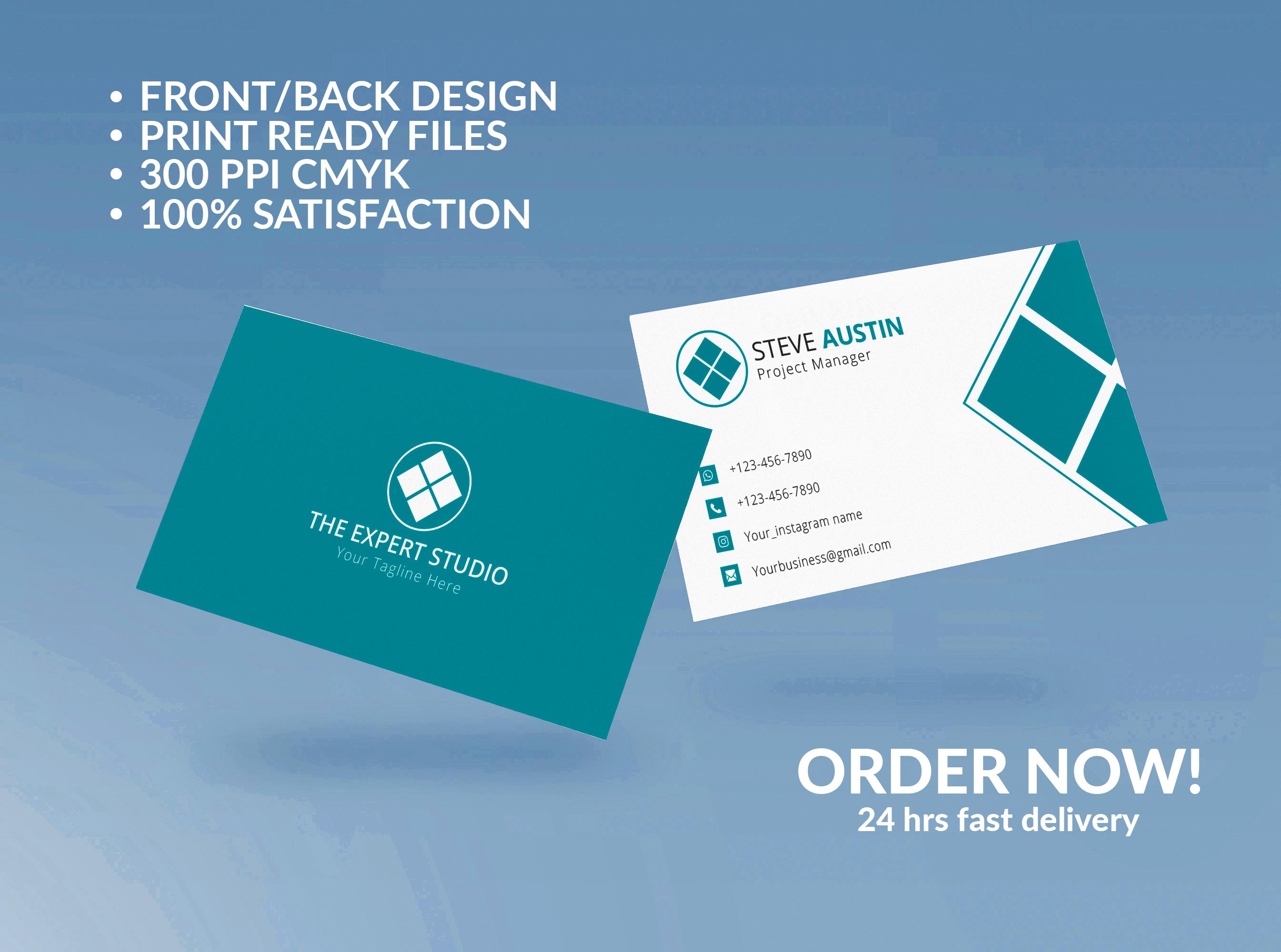 I will provide modern stunning luxury elegant business card design