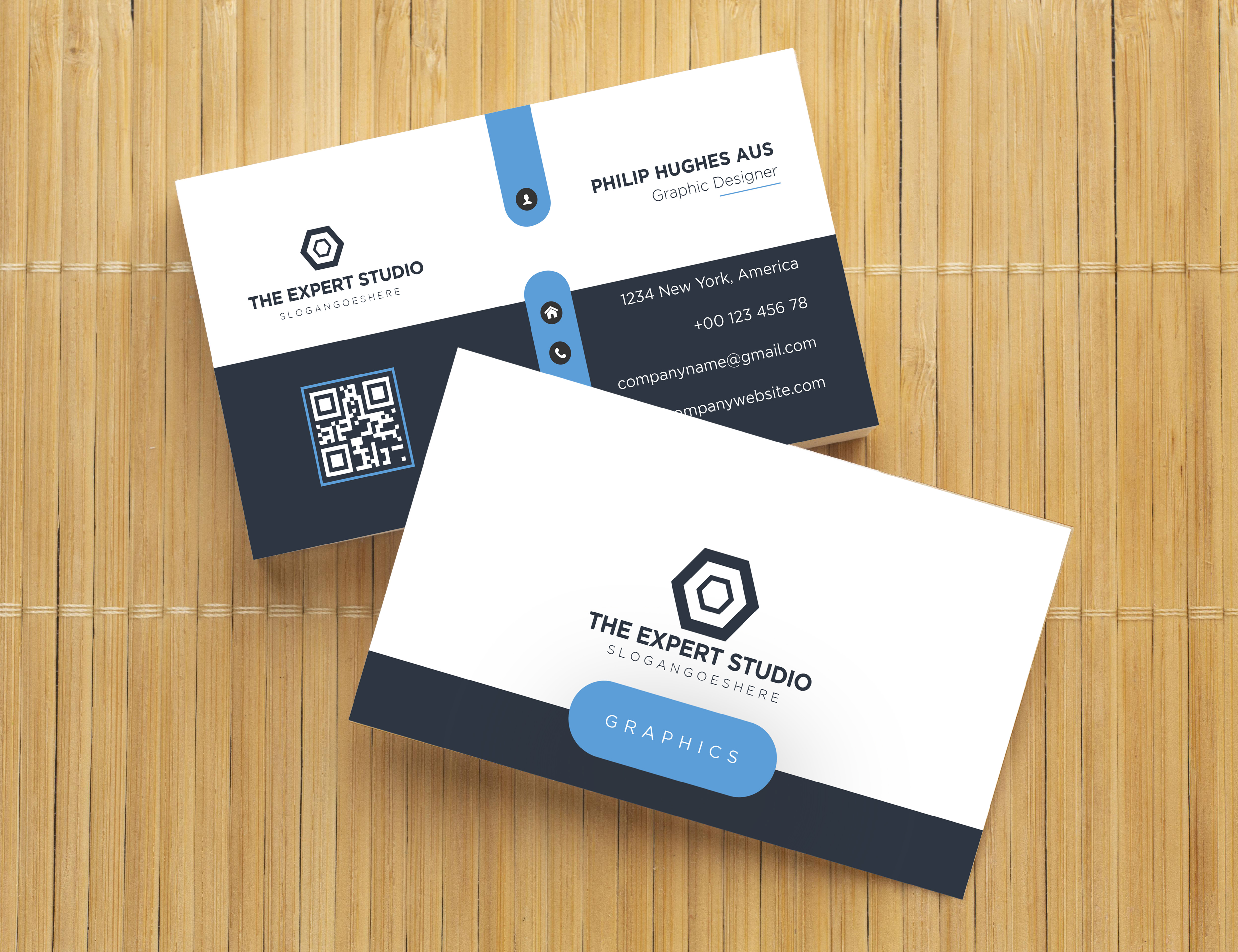 I will design modern and professional business card for your business