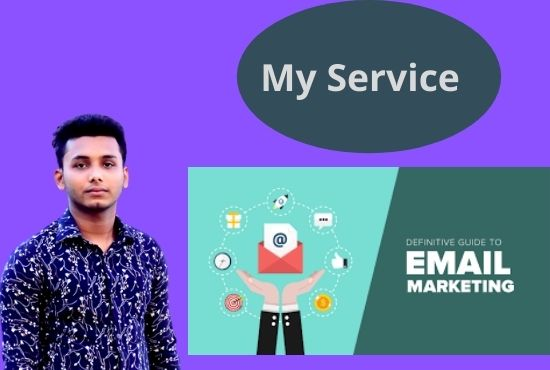 I will provided 1k niche related mail & marketing
