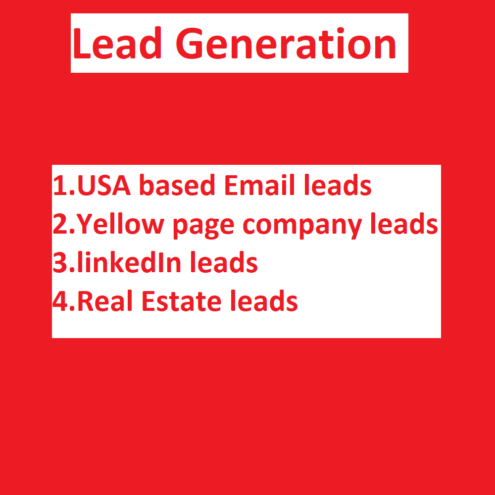 I will provide USA based targeted Email list