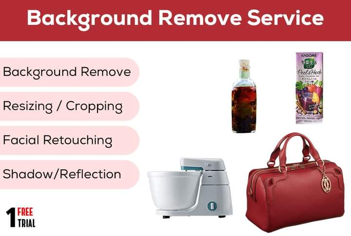 I will remove background professionally with one free trial