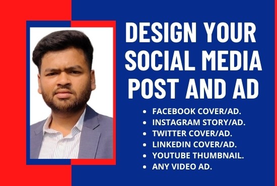 Design your social media post and ads