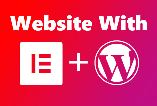 I will design responsive WordPress website using elementor pro page builder
