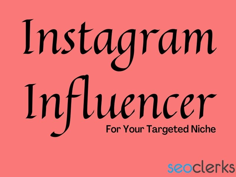 I will find the best top Targeted Instagram influencer