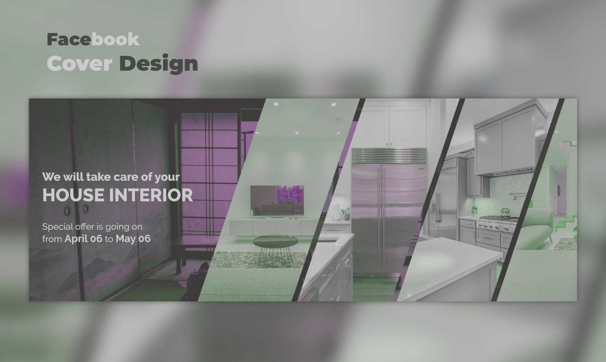 Want to Design Professional,  attractive and eye catchy Facebook cover I will do this for you