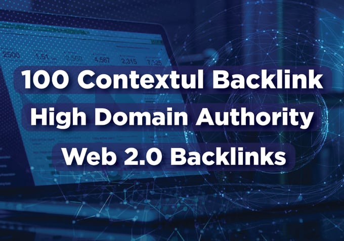 100 High Authority Backlinks Ever Contextual Ranking Top