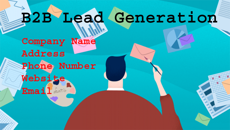 I will provide you B2B lead generation & targeted email list.