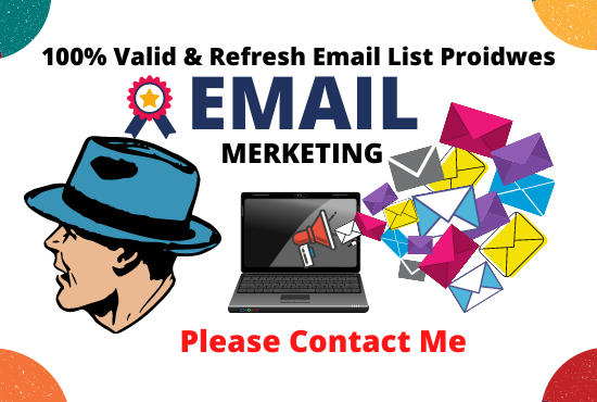 I will collect 1k verified email & all email list service for you.