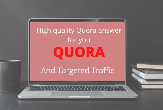 I will provide niche related 60 HQ Quora answers with Guaranteed Targeted traffic