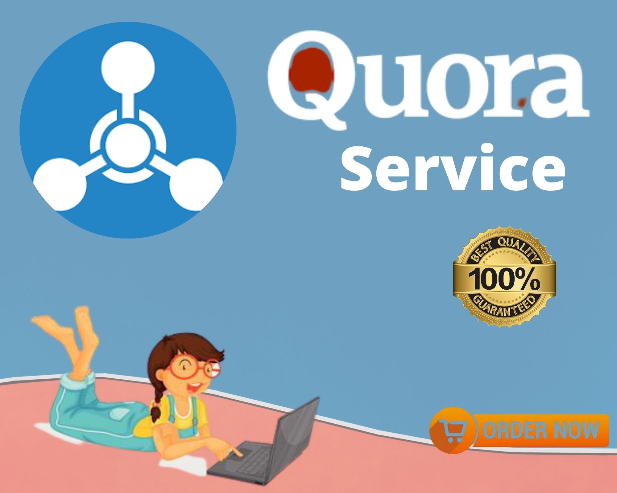 Provide niche relevant 15 High quality Quora answer backlinksTrusted traffic
