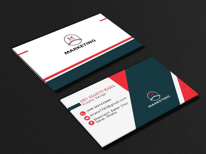 I will create professional business card design in your company